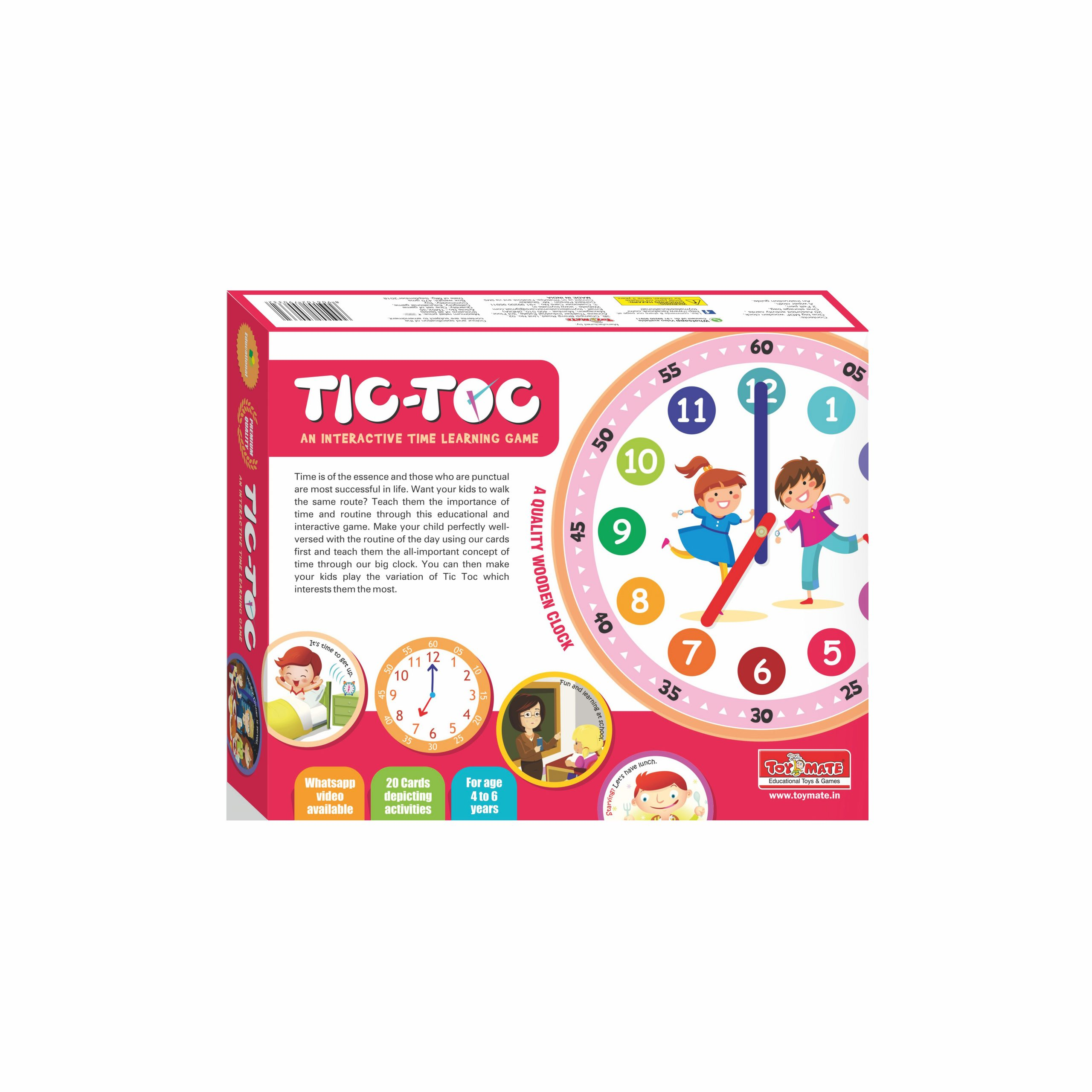 Tic Toc – Time Learning Game